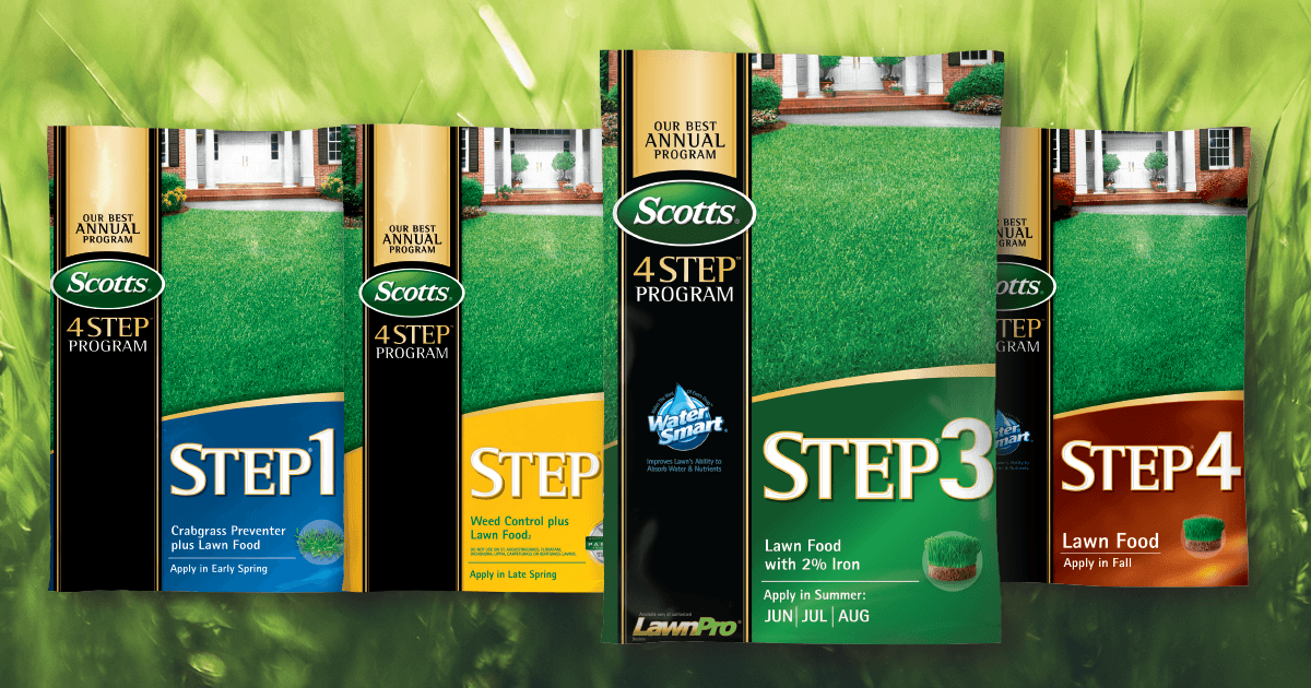 De-Stress Your Summer Lawn with Scotts® Step 3®
