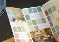 How do I select the right paint color for my home?