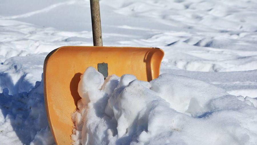 snow shovel for winter